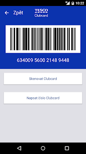 Tesco Clubcard Česká republika- screenshot thumbnail