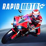 Crazy Motorcycle Racing Icon
