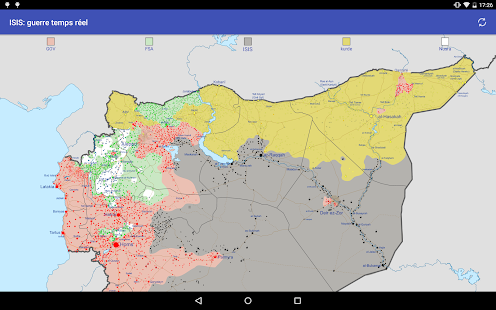 Syria real time war apps on google play screenshot image gumiabroncs Gallery