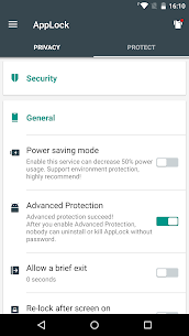 Advanced Protection ☞ AppLock Apk  Download For Android 1