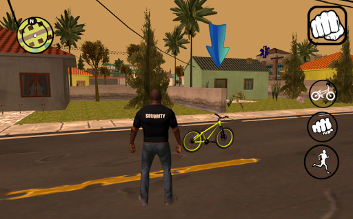 Vice gang bike vs grand zombie in Sun Andreas city 1.0 screenshots 17