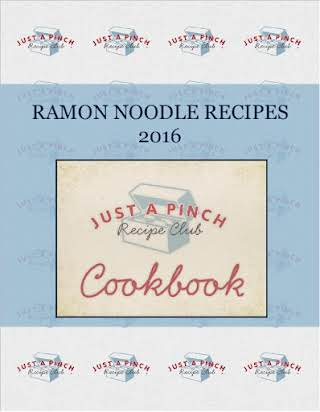 RAMON NOODLE RECIPES   2016