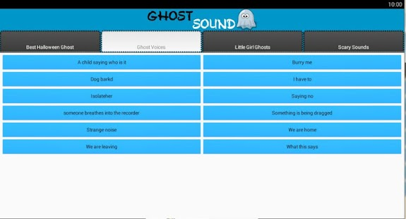 Ghost and Scary Soundboard screenshot 2