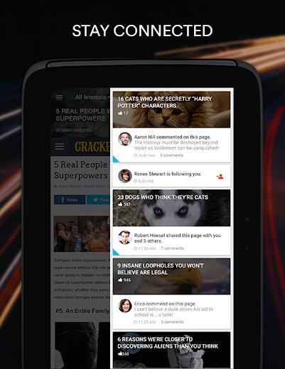 Screenshot 10 for StumbleUpon's Android app'