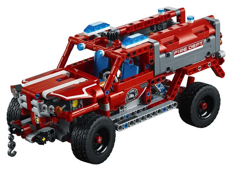 Contenido de Lego® 42075 Equipo de Primera Respuesta