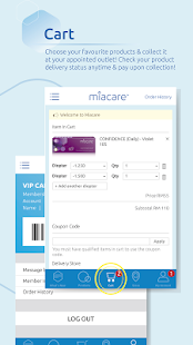 miacare - Contact Lenses- screenshot thumbnail