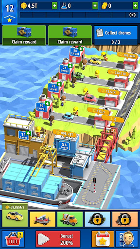 Idle Inventor - Factory Tycoon 0.3.4 screenshots 1