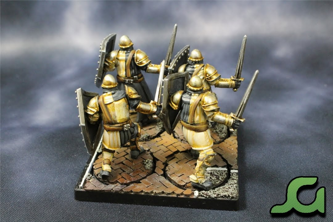 Men-at-arms stand 1 Rear