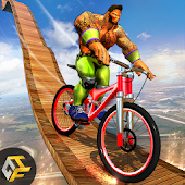 Incredible Monster BMX Bicycle Stunts Rider