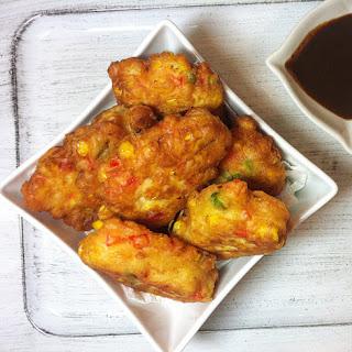 Spicy Corn Fritters Recipe