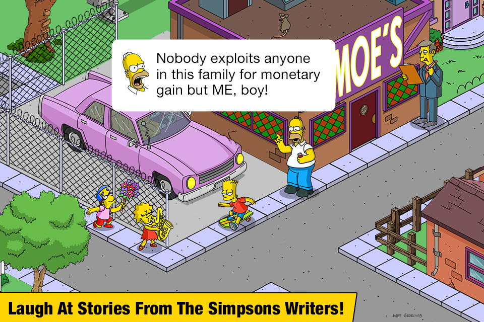 The Simpsons™: Tapped Out – Screenshot