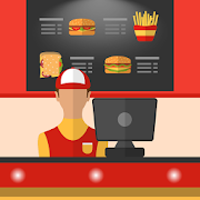 Burger Cashier - Fast food game