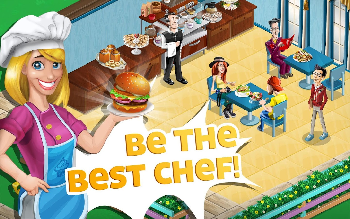 Chef Town: Cooking Simulation- screenshot