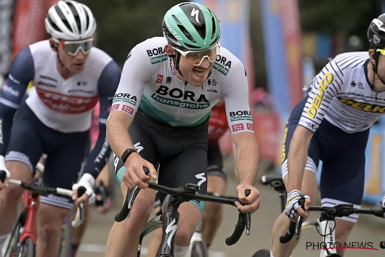 Jordi Meeus scoort punten bij Bora-Hansgrohe