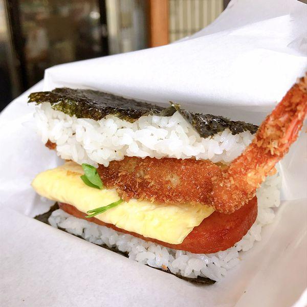 高雄也吃得到沖繩飯糰?本丸家,蛋塔也好好吃!