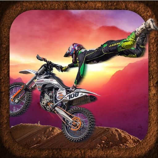 3D Stunt Bike Moto Racer