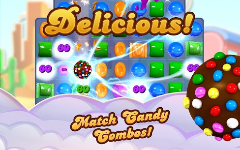 Candy Crush Saga MOD (Unlimited Lives/Levels Open) 7