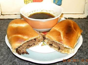 French Dip Sandwiches in the Crock Pot