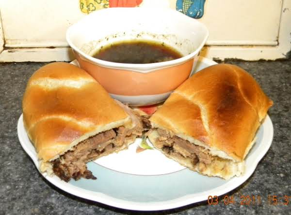 French Dip Sandwiches In The Crock Pot Recipe