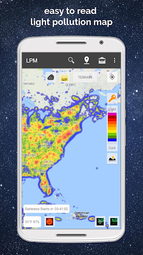 Light Pollution Map – Dark Sky v3.2.2 [Pro]