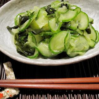 Kyuri & Wakame Sunomono.