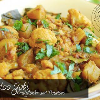 Aloo Gobi - Cauliflower and Potatoes
