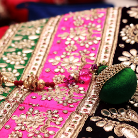 Wedding ceremony by Anurag Bhateja - Wedding Ceremony ( lehnga, makeup, getting ready, bride, indian wedding )