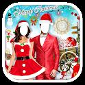 Couple Christmas Photo Suit icon