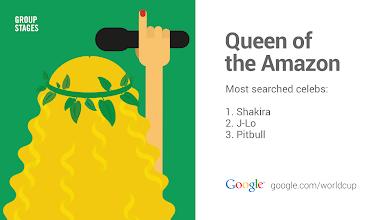 Photo: Queen of the Amazon #GoogleTrends