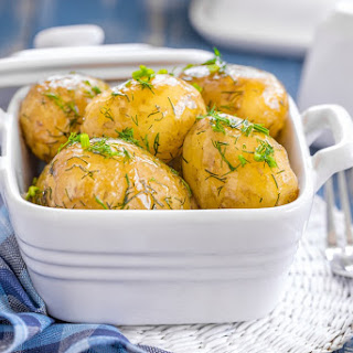 Instant Pot Garlic Butter New Potatoes Recipe