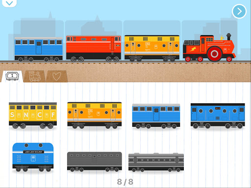 Brick Train Build Game For Kids & Preschoolers 1.5.140 screenshots 21