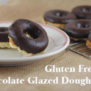 Chocolate Glazed Gluten Free Doughnuts