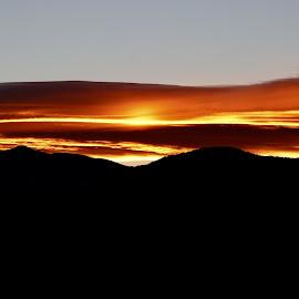 Sunset by Lyn Simuns - Landscapes Sunsets & Sunrises