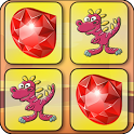 Dino Train Memory Match Up icon