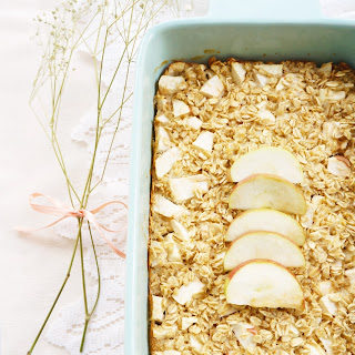Baked Apple Oatmeal.