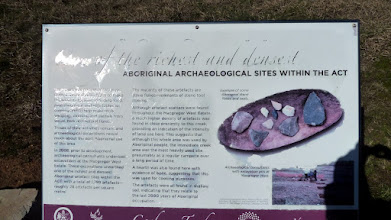 Photo: Aboriginal Archaeological site sign BNT