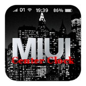 MIUI Center Clock (unofficial)