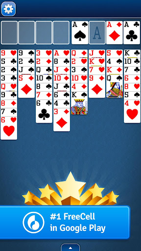 FreeCell Solitaire  gameplay | by HackJr.Pw 5