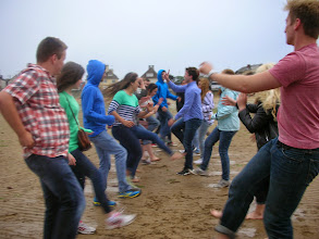 Photo: Learning to Charleston with the St Brieuc group