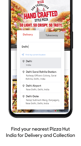 Pizza Hut India – Pizza Delivery – Order Food 8.0.72 screenshots 2