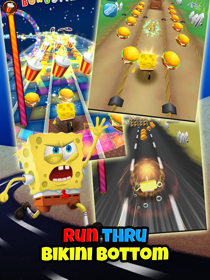 SpongeBob Game Station- screenshot