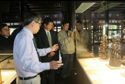 Bảo tàng cổ vật cung đình Huế triển lãm Việt - Nhật