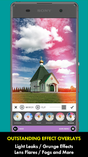 Warmlight Photo Editor Screenshot
