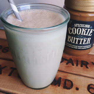 Speculoos Cookie Butter Smoothie.