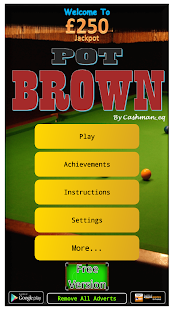 Pot Brown - UK Club Slot sim - náhled