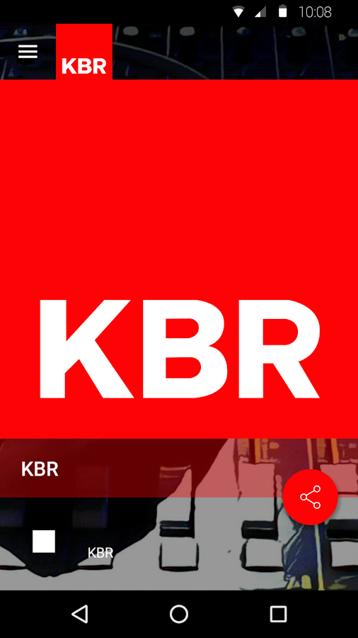 KBR Radio- screenshot