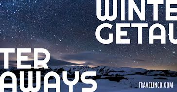 Winter Getaways - Facebook Event Cover Template