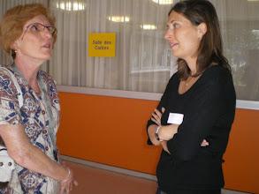Photo: Joëlle et Dr Gazzano