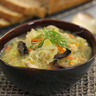 Shchi - Russian Cabbage Soup.