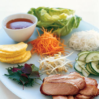 Lemongrass Pork with Vietnamese Table Salad.
